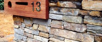 rock feature - letterbox